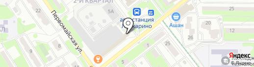 Платежный терминал на карте Лыткарино
