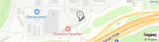 БАКМ на карте Балашихи