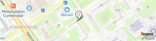 Лифтовик-3 на карте Старого Оскола