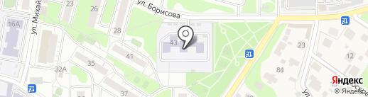 Детский сад №3, Рябинка на карте Балашихи