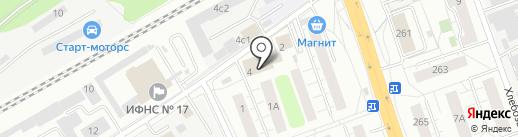 РОСПАКЕТ на карте Люберец