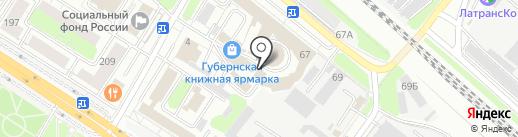 Эрудит на карте Люберец
