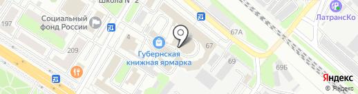 Реал-лайн на карте Люберец