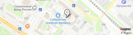 ЦИН на карте Люберец