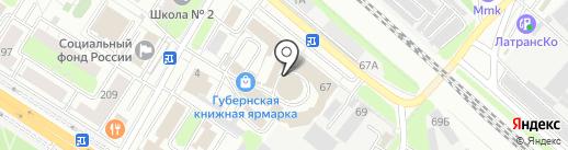 Церковная лавка на карте Люберец