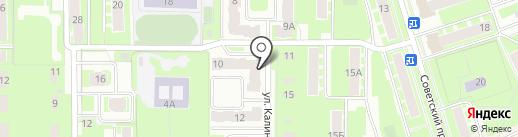 Bonjour на карте Ивантеевки