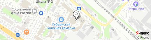 Галерея на карте Люберец