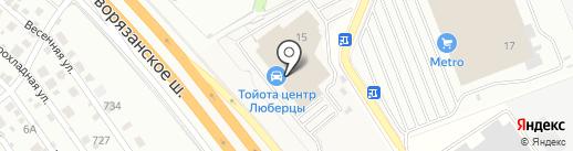 Тойота Центр Люберцы на карте Томилино