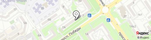 Старооскольский юридический центр на карте Старого Оскола