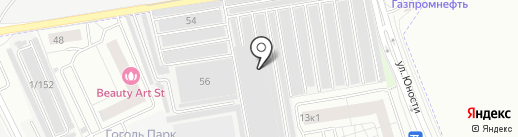 Мастерская по ремонту на карте Люберец