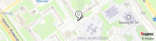 Аптечный пункт на карте Старого Оскола