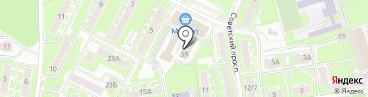 Ивантеевское информационное агентство Московской области на карте Ивантеевки