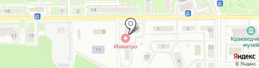 Дусти на карте Ивантеевки