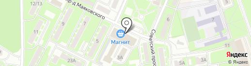 Sushi-Rolls на карте Ивантеевки