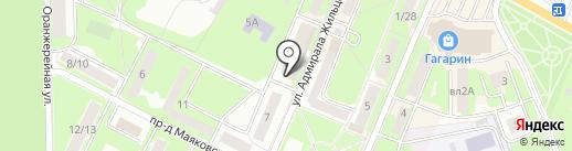 Магазин фруктов и овощей на карте Ивантеевки