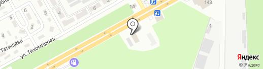 Спотыкач, автомойка на карте Макеевки
