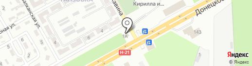КОМПАНИЯ АМО на карте Макеевки