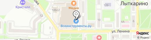 Екатерина на карте Лыткарино