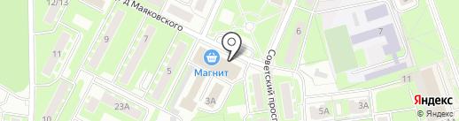 Мастерская по изготовлению ключей на карте Ивантеевки