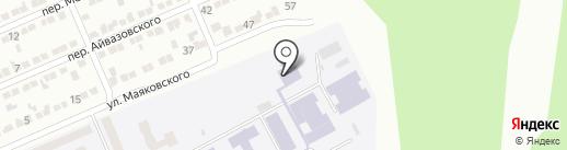 ДонНАСА на карте Макеевки