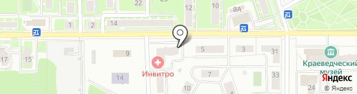 АРТС на карте Ивантеевки