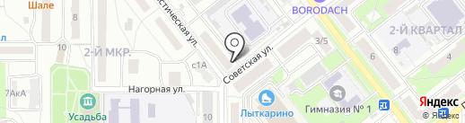 Драгоценности Урала на карте Лыткарино