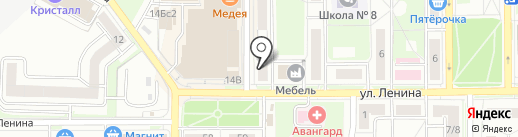 Магазин цветов на карте Лыткарино