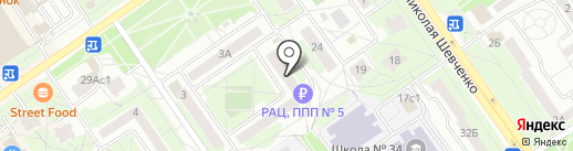 ЖЭУ №5 на карте Старого Оскола