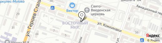 Ритуальный салон на карте Макеевки