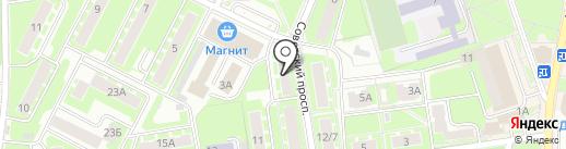 Импульс-М на карте Ивантеевки
