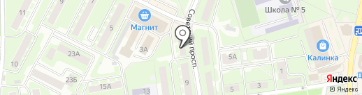 Avon на карте Ивантеевки