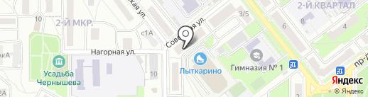 Платежный терминал, Московский кредитный банк, ПАО на карте Лыткарино