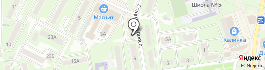 Oriflame на карте Ивантеевки