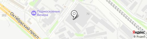 Донской Алюминий на карте Люберец