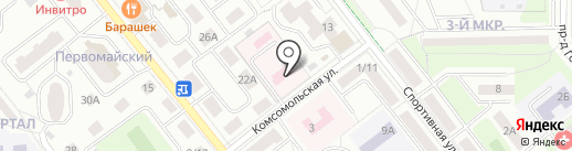 Станция скорой медицинской помощи на карте Лыткарино