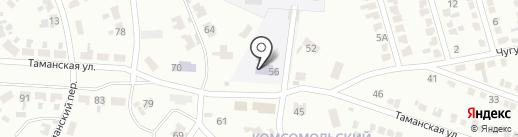 Макеевская автошкола на карте Макеевки