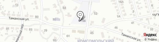 Макеевская автошкола, ОСОУ на карте Макеевки