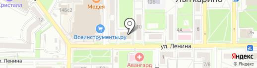 Автокэш на карте Лыткарино