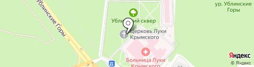 Храм Святителя Луки Крымского на карте Старого Оскола