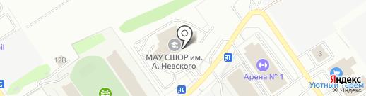 NevskyTeam на карте Старого Оскола