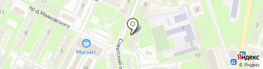 Подмосковье-наш дом! на карте Ивантеевки