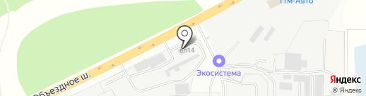 Икс-центр на карте Балашихи