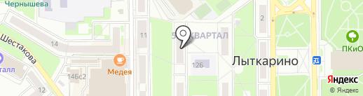 Доверие на карте Лыткарино