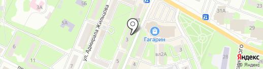 Алькор на карте Ивантеевки