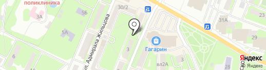 Сеть магазинов и киосков молочной продукции на карте Ивантеевки