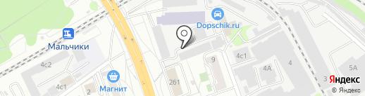 Диско Пицца на карте Люберец