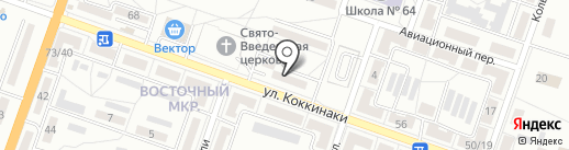 Софи на карте Макеевки