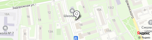 Man Sport на карте Ивантеевки