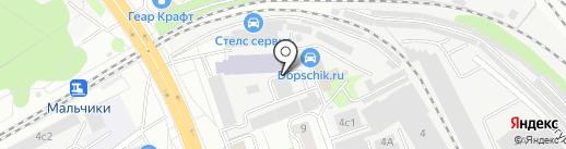 Алькарт на карте Люберец
