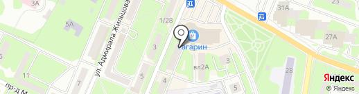 Эковет на карте Ивантеевки